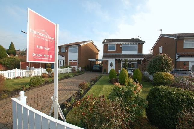 Thumbnail Detached house for sale in Rush Acre Close, Radcliffe, Manchester