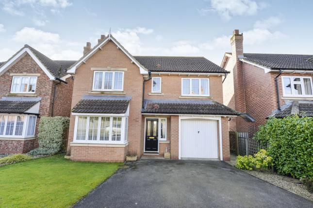 Thumbnail Detached house for sale in Oaktree Drive, Northallerton, North Yorkshire
