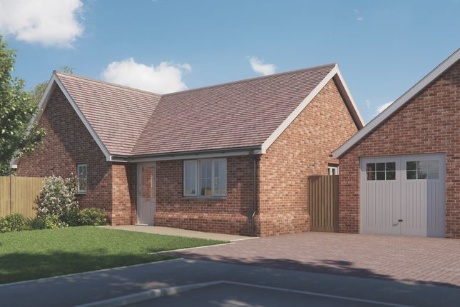 Thumbnail Bungalow for sale in Plot 6 Old Stables, Walton Road, Kirby-Le-Soken