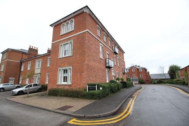 Thumbnail Flat for sale in Trent Close, Stone, Staffordshire