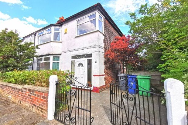 Thumbnail Property to rent in Hartley Road, Manchester