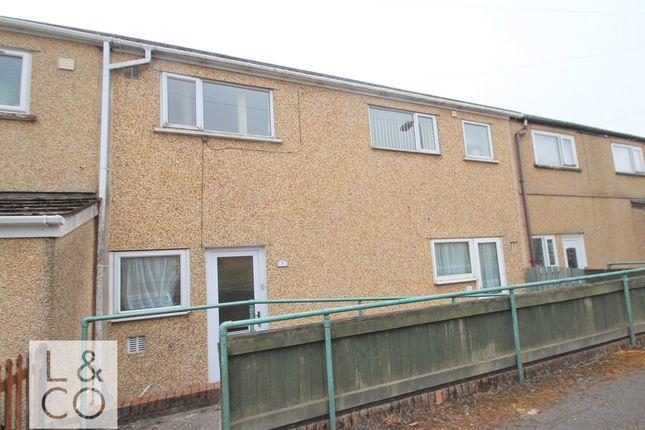Thumbnail End terrace house to rent in Heol Ganol, Brynmawr, Ebbw Vale