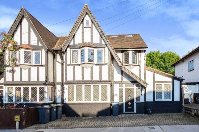 Thumbnail Semi-detached house for sale in Brickwood Road, East Croydon