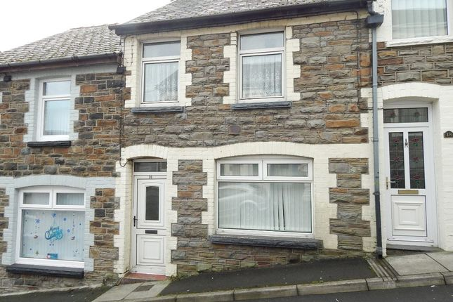 Thumbnail Terraced house to rent in Gaen Street, Abertillery