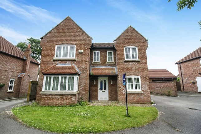 Thumbnail Detached house for sale in Peter Nevill Way, Long Riston, Hull