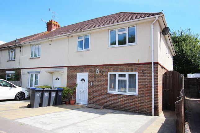 Thumbnail Flat to rent in Grinstead Lane, Lancing