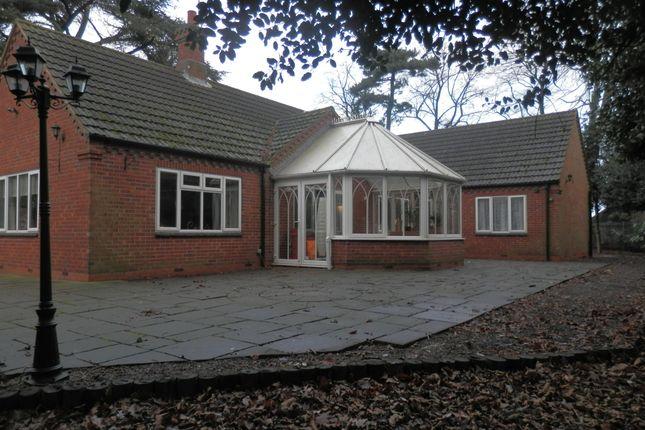 Thumbnail Detached bungalow to rent in Belfield Gardens, Nottingham