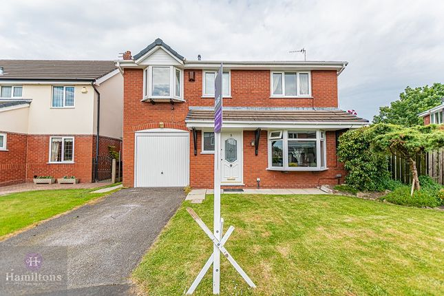 Thumbnail Detached house for sale in Alder Close, Pennington, Leigh, Greater Manchester.