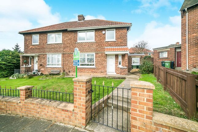 Thumbnail Semi-detached house for sale in Parkhead Gardens, Blaydon-On-Tyne