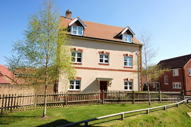 Thumbnail Detached house for sale in Waterers Way, Bagshot