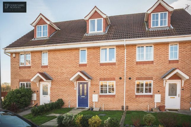 3 bed town house for sale in Broughton Close, Riddings, Alfreton, Derbyshire DE55