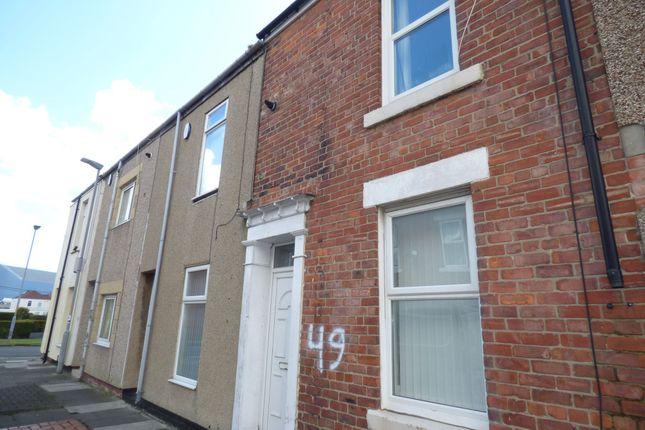 2 bed terraced house for sale in Disraeli Street, Blyth NE24