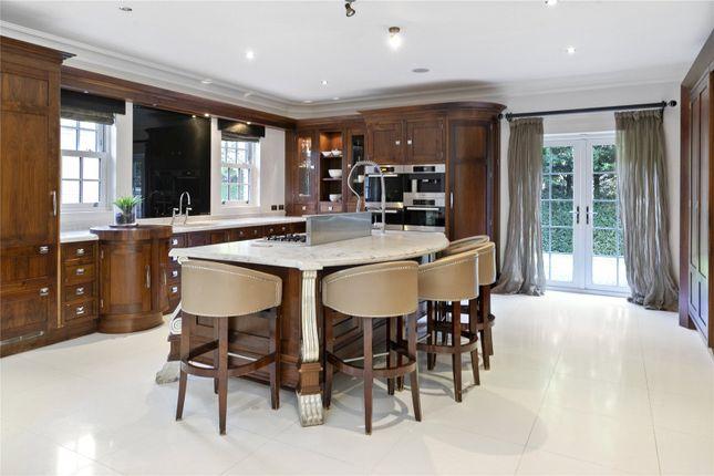 Thumbnail Detached house to rent in Kings Warren, Oxshott, Surrey