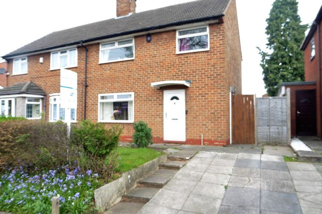 Thumbnail Semi-detached house to rent in Staple Lodge Road, Northfield, Birmingham