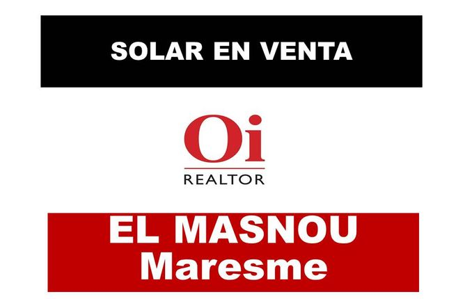 Thumbnail Land for sale in Masnou, Masnou (El), Spain