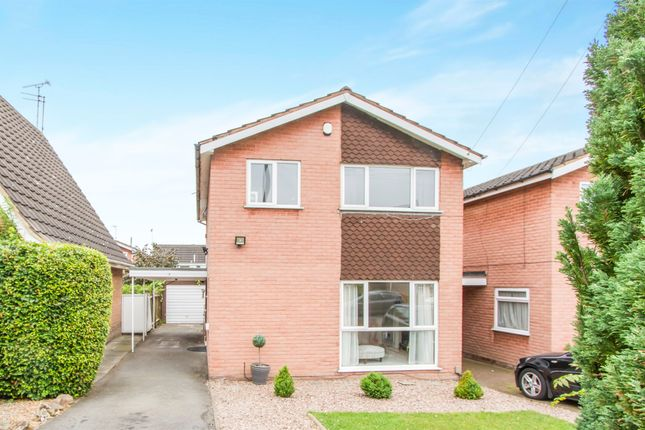 Thumbnail Detached house for sale in Lindrick Drive, Leicester