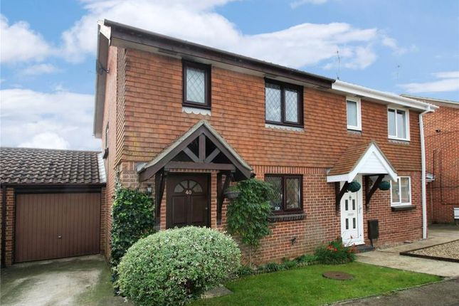 Thumbnail Semi-detached house for sale in Bridgnorth Close, Worthing, West Sussex
