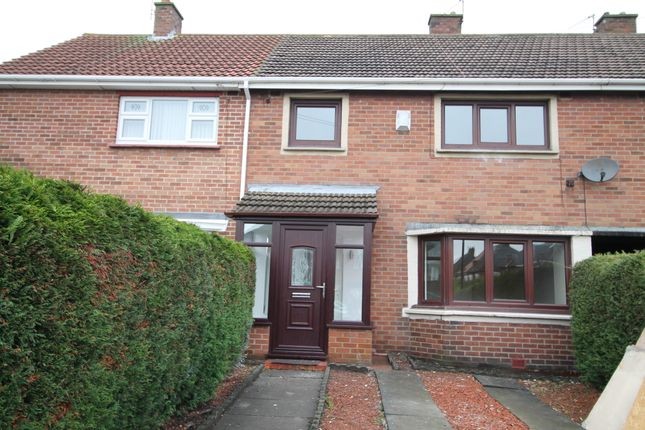 Thumbnail Terraced house for sale in Rose Avenue, Fencehouses, Houghton Le Spring