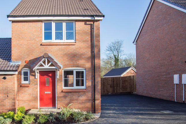 Thumbnail Semi-detached house for sale in Fairway Meadows, Ullesthorpe, Lutterworth