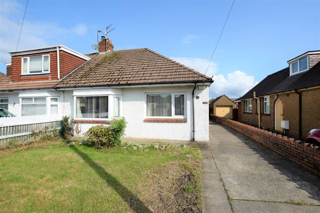 Thumbnail Semi-detached bungalow for sale in Morningside Walk, Barry