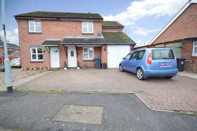 3 bed semi-detached house for sale in Brookside, Barlestone