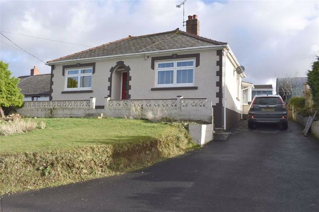 Thumbnail Detached bungalow for sale in Llanllwni, Llanybydder