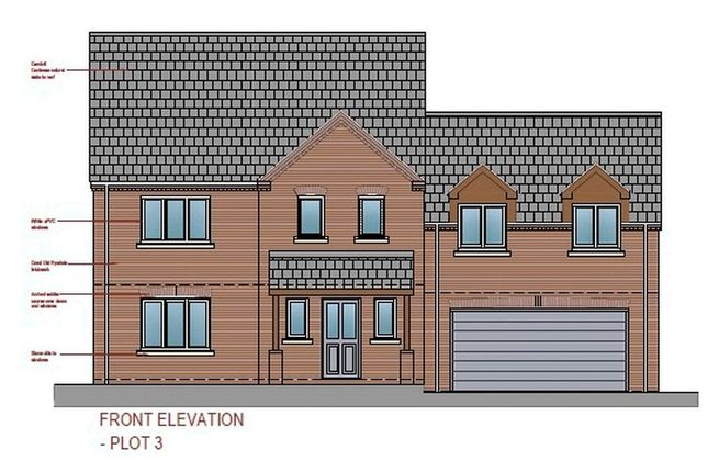 Thumbnail Detached house for sale in Ravenwood, Lincoln Road, Washingborough