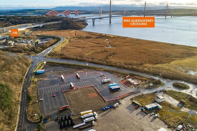 Thumbnail Land for sale in Lorry Park Opportunity, Queensferry One, Barham Road, Rosyth