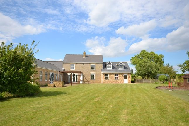 Thumbnail Detached house to rent in Bull Bridge, Upwell, Wisbech