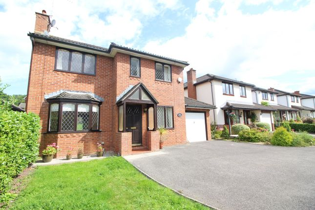 Thumbnail Detached house for sale in Plas Derwen Close, Abergavenny