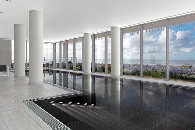 Pool- CGI of Bayside Apartments, Brighton Road BN11