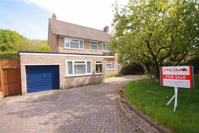Thumbnail Detached house for sale in Gillsmans Park, St Leonards-On-Sea, East Sussex