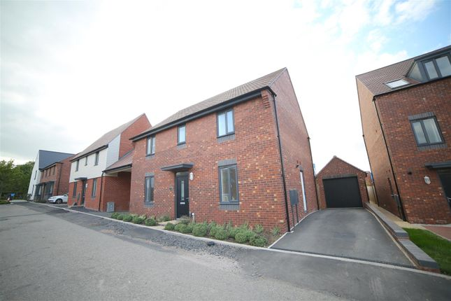 Thumbnail Detached house for sale in Booth Crescent, Lawley Village, Telford