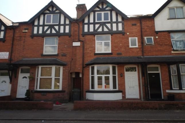 Thumbnail Terraced house to rent in St. Georges Road, Redditch