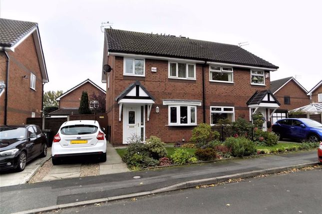 Thumbnail Semi-detached house for sale in Peregrine Crescent, Droylsden, Manchester