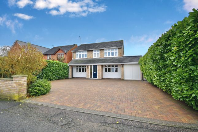 Thumbnail Detached house for sale in Ise View Road, Desborough, Kettering