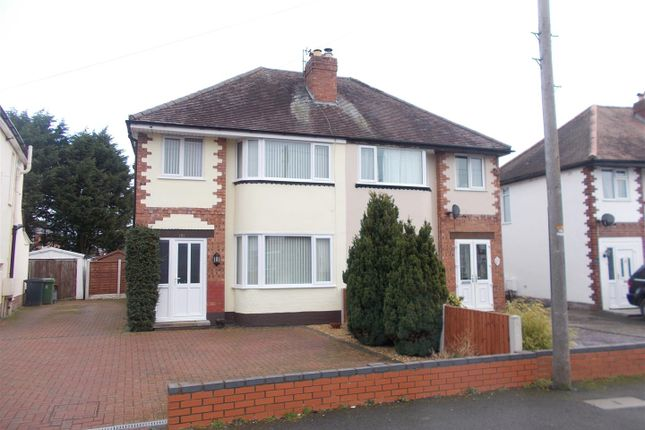 Thumbnail Semi-detached house for sale in Sundorne Crescent, Shrewsbury
