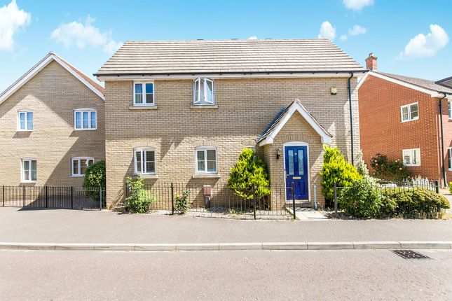 Thumbnail Link-detached house for sale in Avitus Way, Highwoods, Colchester