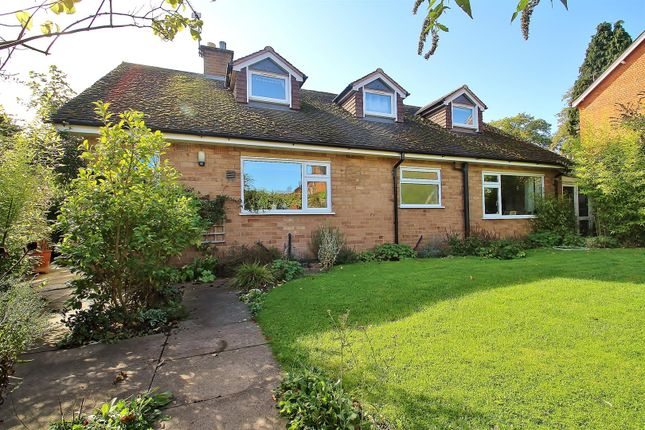 Thumbnail Detached bungalow for sale in Wellsic Lane, Rothley, Leicester