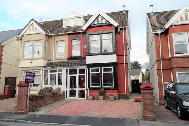 Thumbnail Semi-detached house for sale in Lancaster Villas, Merthyr Tydfil