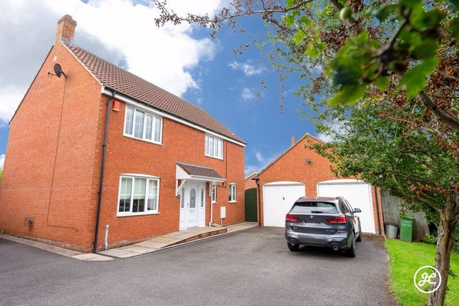 Thumbnail Detached house for sale in Dovai Drive, Bridgwater