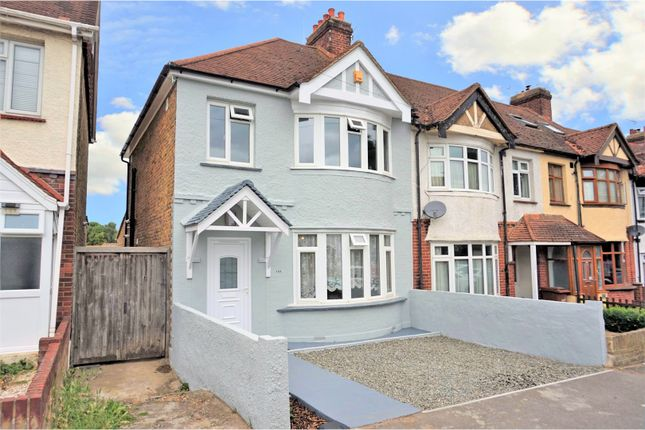 Thumbnail End terrace house for sale in Featherby Road, Gillingham