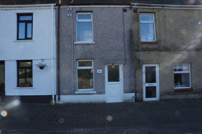Thumbnail Terraced house to rent in Orchard Street, Pontardawe, Swansea.