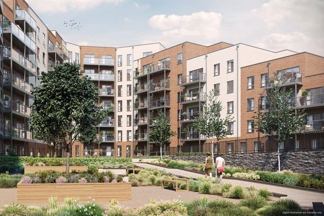 Thumbnail Flat for sale in Ifield Road, West Green, Crawley, West Sussex