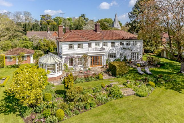 Thumbnail Detached house for sale in Church Lane, Bury, Pulborough, West Sussex