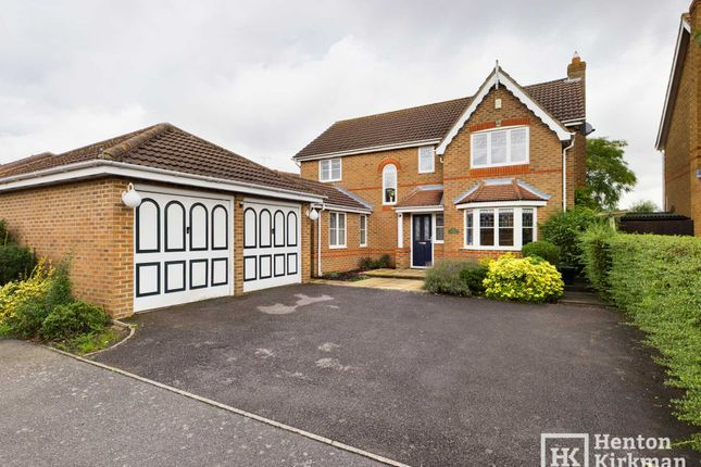 Thumbnail Detached house for sale in Stirling Close, Rayleigh