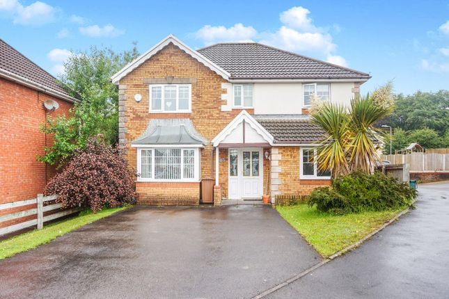 Thumbnail Detached house for sale in Bramblewood Court, Pengam, Blackwood
