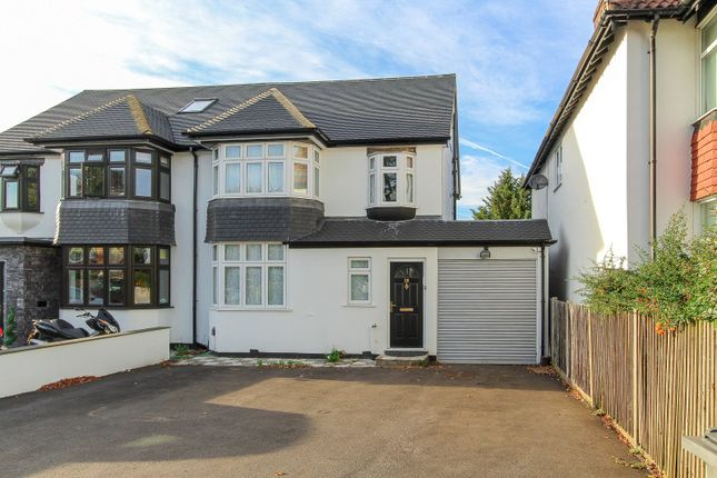 Thumbnail Semi-detached house to rent in Gibbs Green, Edgware
