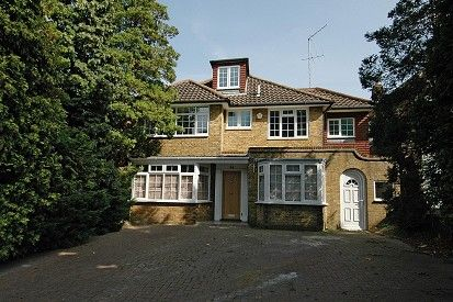 Thumbnail Detached house to rent in Fitzalan Road, Finchley