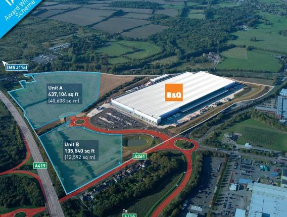 Thumbnail Land to let in G Park Swindon, Highworth Road, South Marston, Swindon, Wiltshire
